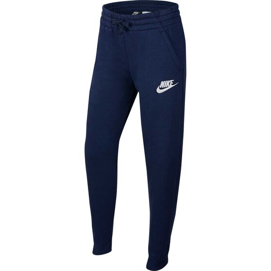 Nike Boys Sportswear Club Fleece Pants, Navy / White, rebel_hi-res