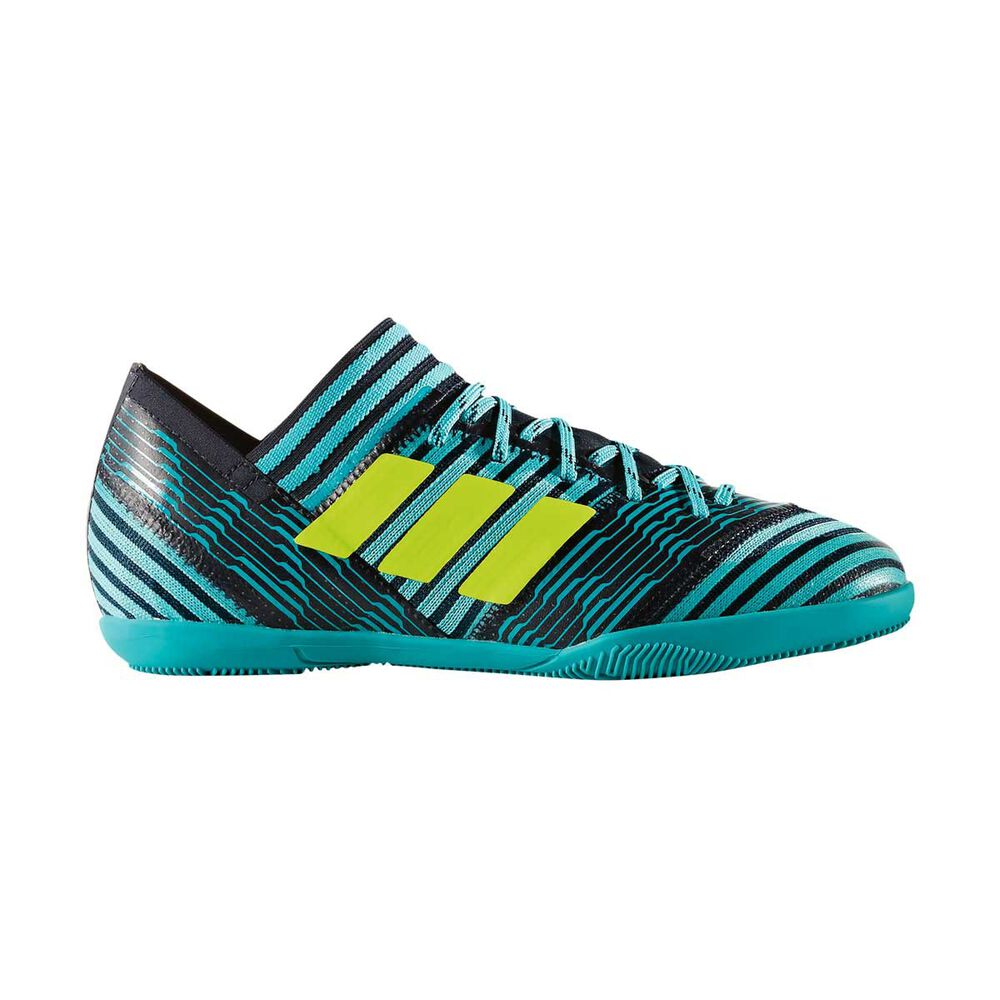 3032ad26913 adidas Nemeziz Tango 17.3 Junior Indoor Soccer Shoes Yellow   Blue US 1