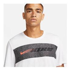 Nike Mens Dri-FIT Superset Training Tee, White, rebel_hi-res