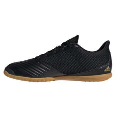 adidas Predator 19.4 SALA Indoor Soccer Shoes Black US Mens 7 / Womens 8, Black, rebel_hi-res