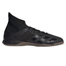 adidas Predator 20.3 Indoor Soccer Shoes Black US Mens 7 / Womens 8, Black, rebel_hi-res