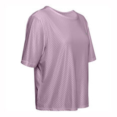 Under Armour Womens Armour Sport Tee Pink XS, Pink, rebel_hi-res