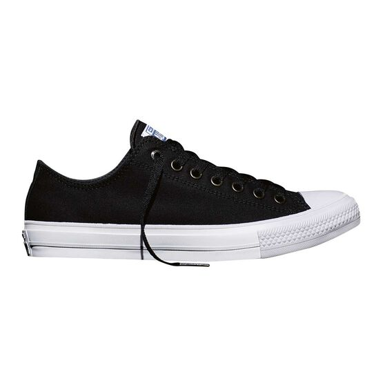 Converse Chuck Taylor All Star II Low Top Casual Shoes Black / White US 3, Black / White, rebel_hi-res
