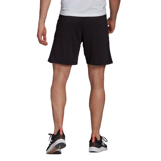 adidas Mens Aeroknit Designed 2 Move Seamless Shorts, Black, rebel_hi-res