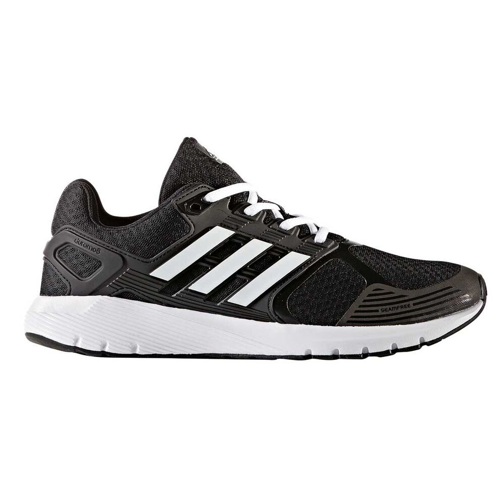 adidas Duramo 8 Mens Running Shoes Black   White US 9 cc2e73537