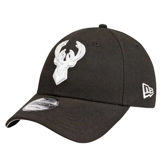 Milwaukee Bucks New Era 9FORTY Black Cloud Cap, , rebel_hi-res