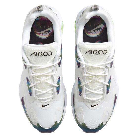 Nike Air Max 200 20 Mens Casual Shoes, White/Black, rebel_hi-res