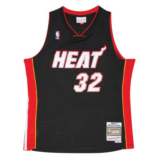 Miami Heat Shaquille O'Neal 05/06 Swingman, Black, rebel_hi-res