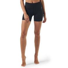 Ell & Voo Womens Rachael 5in Short Tights Black 8, Black, rebel_hi-res