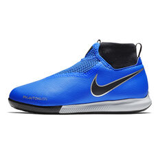 Nike Phantom Vision Academy Junior Indoor Soccer Shoes Blue / Black US 1, Blue / Black, rebel_hi-res