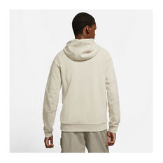 Nike Mens Sportswear Modern Full-Zip Fleece Hoodie, Grey, rebel_hi-res
