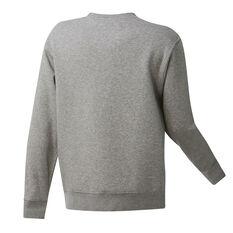 Boston Celtics Mens Fleece Crew Sweatshirt Grey S, Grey, rebel_hi-res
