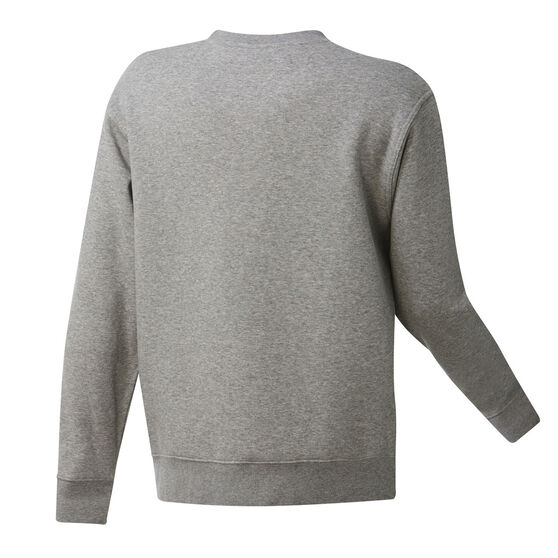 Boston Celtics Mens Fleece Crew Sweatshirt, Grey, rebel_hi-res
