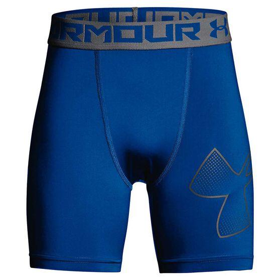 Under Armour Boys HeatGear Armour Mid Shorts, , rebel_hi-res