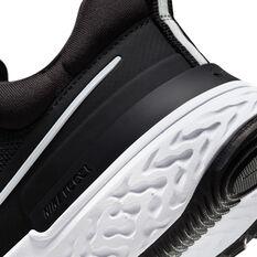 Nike React Miler 2 Womens Running Shoes, Black/White, rebel_hi-res