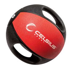 Celsius 8kg Dual Handle Medicine Ball, , rebel_hi-res