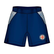 Melbourne City Mens Supporter Training Shorts Blue S, , rebel_hi-res
