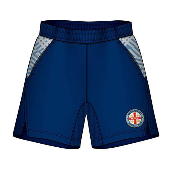 Melbourne City Mens Supporter Training Shorts, , rebel_hi-res