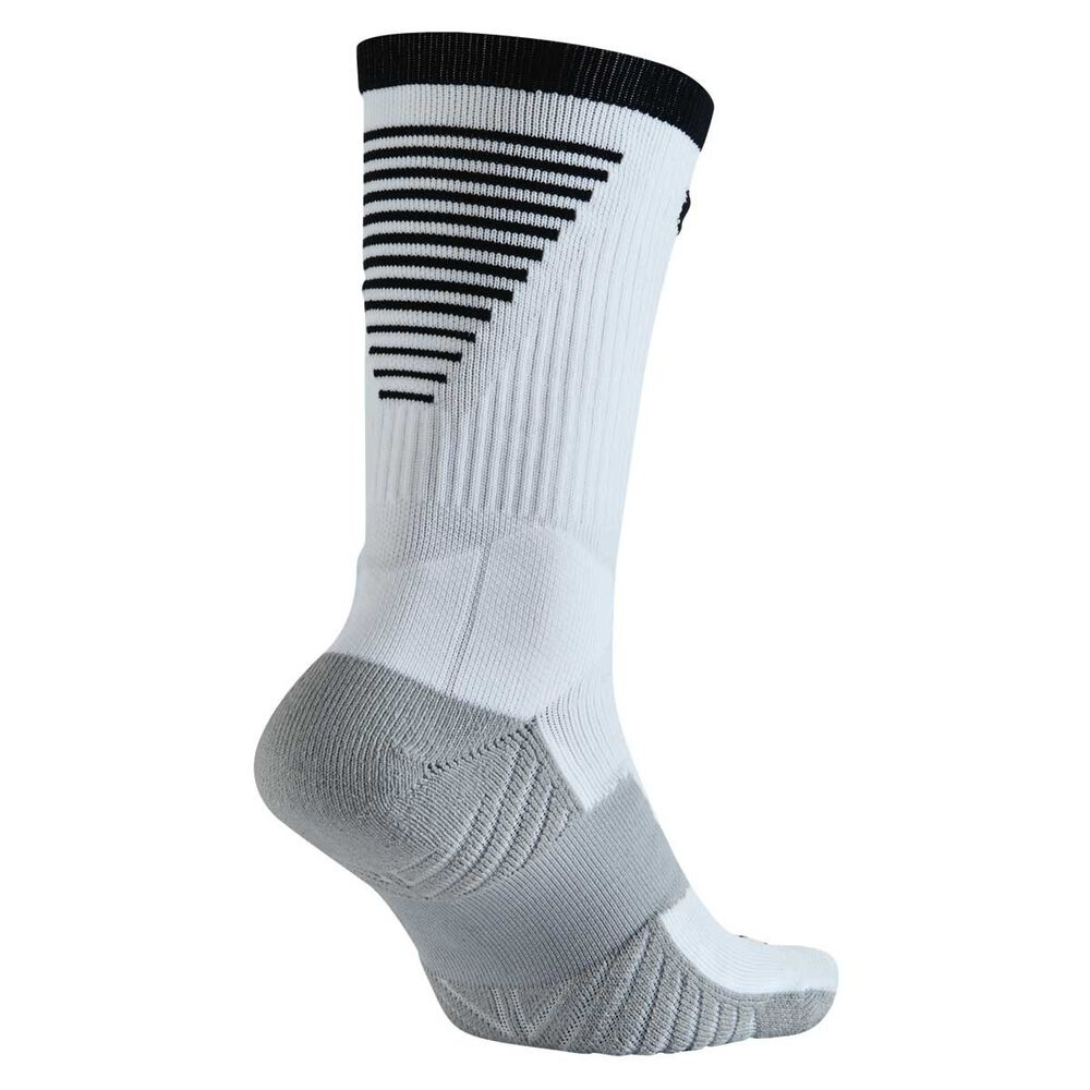 069fa139c Nike Dry Squad Crew Football Socks White / Black M, White / Black, rebel_hi