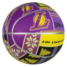 Spalding NBA Lakers Ugly Sweater Basketball, , rebel_hi-res