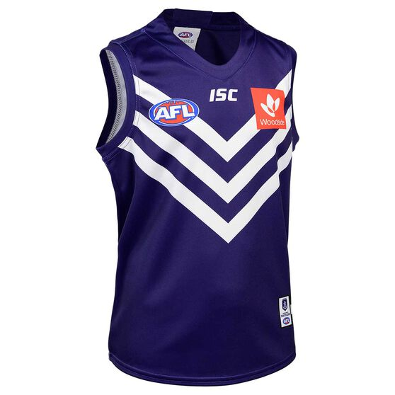 Fremantle Dockers 2020 Kids Home Guernsey, Purple, rebel_hi-res
