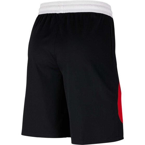 Nike Mens Dri-FIT HBR 2 Shorts, Black / Red, rebel_hi-res