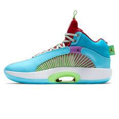 Air Jordan x Jayson Tatum XXXV Women In Power Basketball Shoes Blue/Silver US 7, Blue/Silver, rebel_hi-res