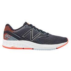 New Balance 890v6 Womens Running Shoes Grey US 7, Grey, rebel_hi-res