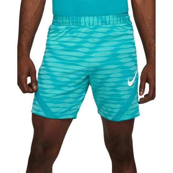Nike Mens Dri-FIT Strike Knit Soccer Shorts, Blue, rebel_hi-res