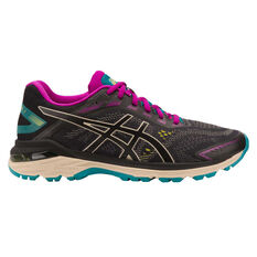 Asics GT 2000 7 Trail D Womens Trail Running Shoes Black / Grey US 6.5, Black / Grey, rebel_hi-res