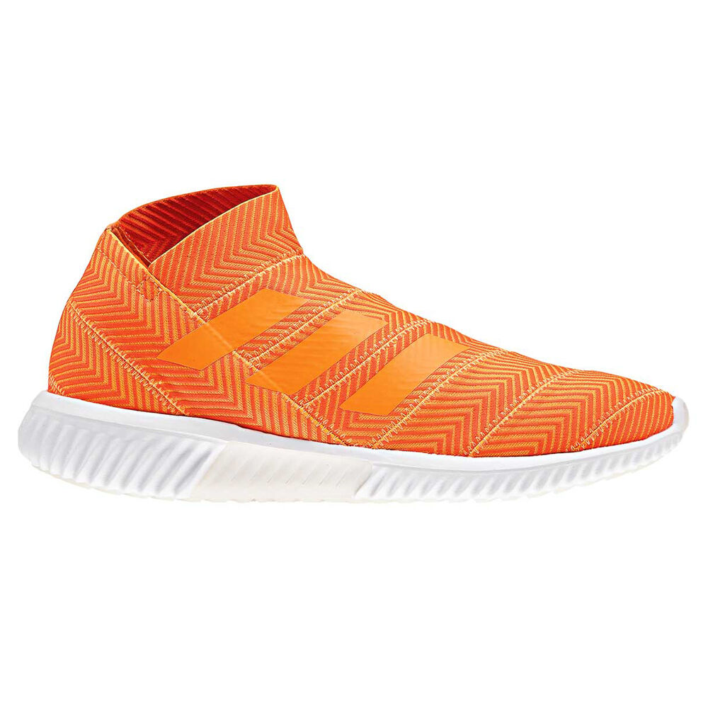 adidas Nemeziz Tango 18.1 Mens Indoor Soccer Shoes Orange   Black US ... 76337d0932ba1