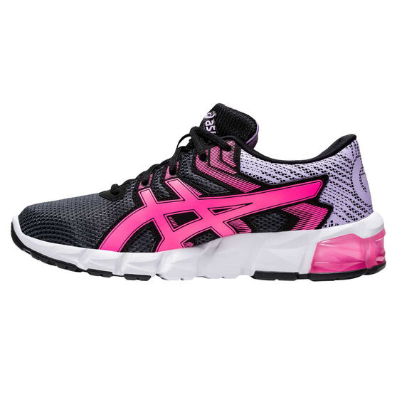 Asics GEL Quantum 90 2 Kids Casual Shoes, Black/Pink, rebel_hi-res