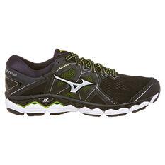 Mizuno Wave Sky 2 Mens Running Shoes Black US 9.5, Black, rebel_hi-res