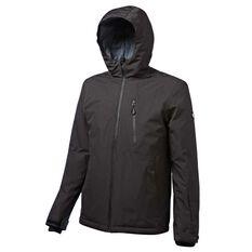 Tahwalhi Mens Everglade Ski Jacket Black S, Black, rebel_hi-res
