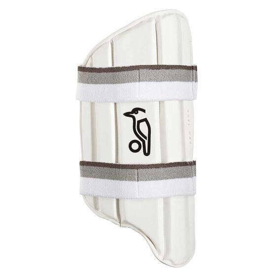 Kookaburra Pro 1500 Cricket Thigh Guard White Right Hand, White, rebel_hi-res