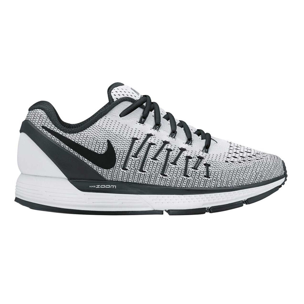 Nike Air Zoom Odyssey 2 Womens Running Shoes Grey   White US 8.5 ... e4f923dc94