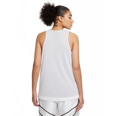 Nike Womens Swoosh Fly Reversible Basketball Jersey White XS, White, rebel_hi-res