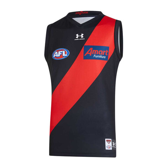 Essendon Bombers 2020 Kids Home Guernsey, Black / Red, rebel_hi-res