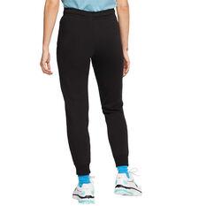 Nike Womens Sportswear Essentials Fleece Track Pants, Black, rebel_hi-res