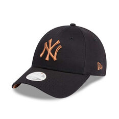 New York Yankees New Era 9FORTY Rose Gold Accent Cap 39190372b353