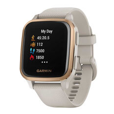 Garmin Venu Sq Music GPS Smartwatch - Light Sand Rose Gold, , rebel_hi-res