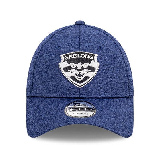 Geelong Cats 2021 New Era Shadow Tech 9FORTY Cap, , rebel_hi-res