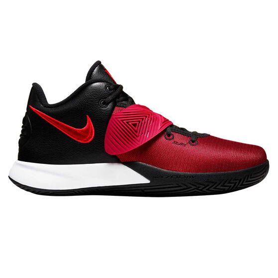 Nike Kyrie Flytrap III Mens Basketball Shoes, Black / Red, rebel_hi-res