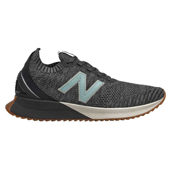 New Balance Echo Womens Running Shoes Grey / Black US 8, Grey / Black, rebel_hi-res