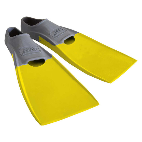 Zoggs Long Blade Training Fins US 5 - 6, , rebel_hi-res