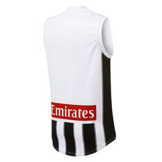 Collingwood Magpies 2019 Mens Away Guernsey Black / White S, Black / White, rebel_hi-res