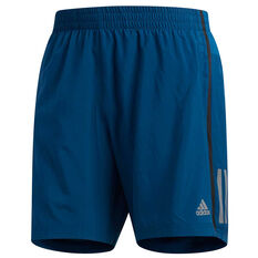 adidas Mens Own the Run 7in Running Shorts Navy S, Navy, rebel_hi-res