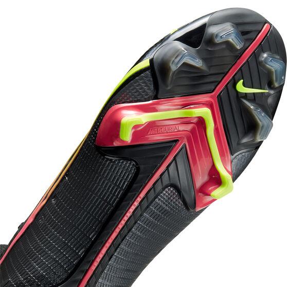 Nike Mercurial Superfly 8 Elite Football Boots, Black, rebel_hi-res