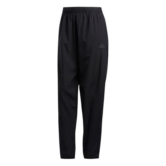 adidas Mens Run It 3 Stripes Astro Running Pants, Black, rebel_hi-res