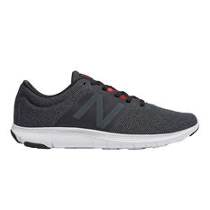 New Balance Koze Mens Running Shoes Black / Red US 7, Black / Red, rebel_hi-res